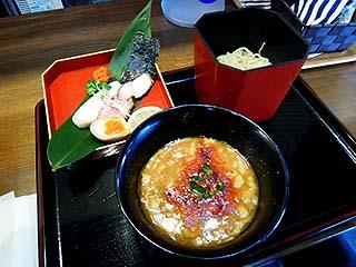 かみあり製麺@出雲 ★★ (あん肝つけ麺・期間限定)_f0080612_2022986.jpg