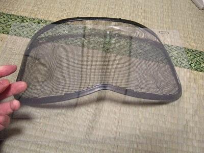 ハスクバーナ社製ヘルメット改造・修理_f0182936_16364670.jpg