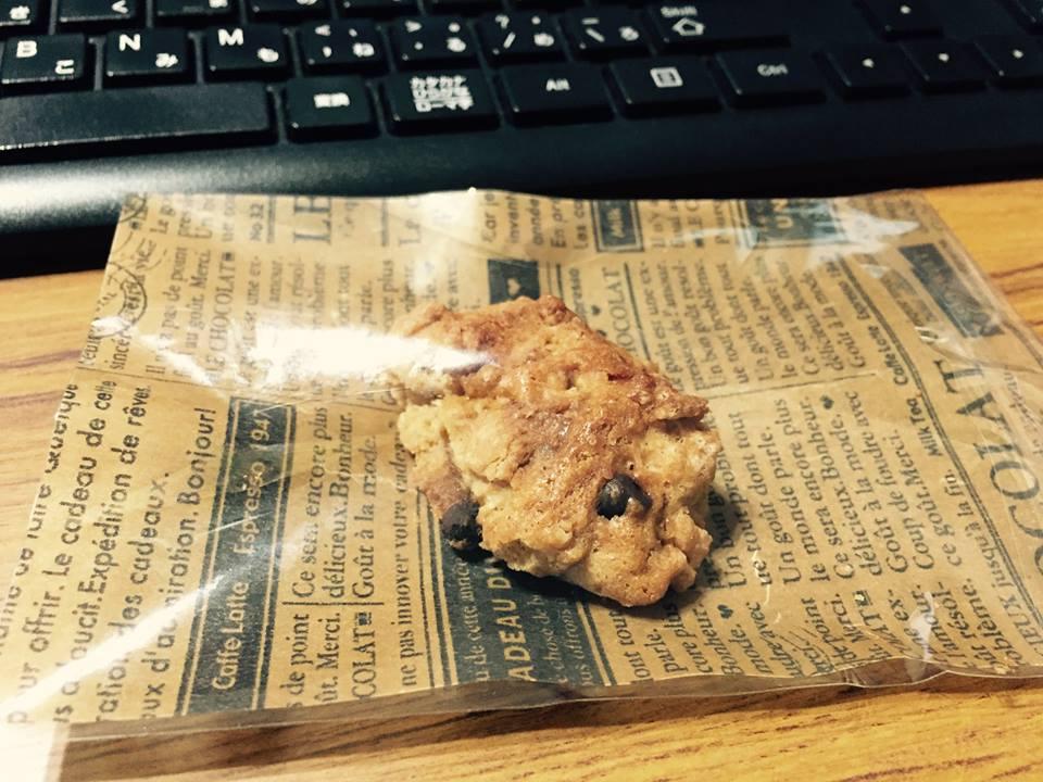 事務所でのひとこま〜がんづき&クッキー〜_b0199244_17201452.jpg