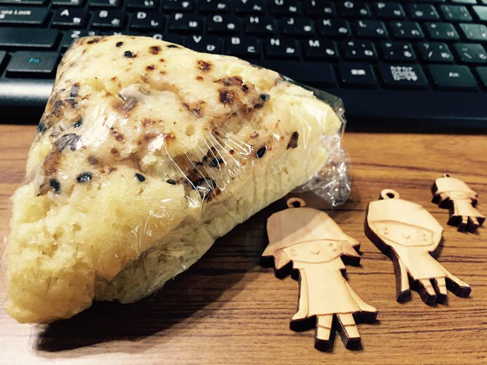 事務所でのひとこま〜がんづき&クッキー〜_b0199244_172355.jpg