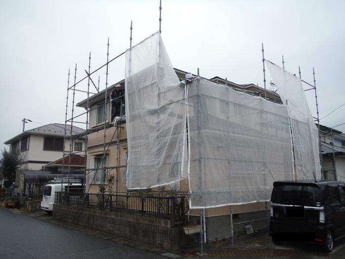 屋根・外壁の塗り替え ~ 水洗い_d0165368_441244.jpg