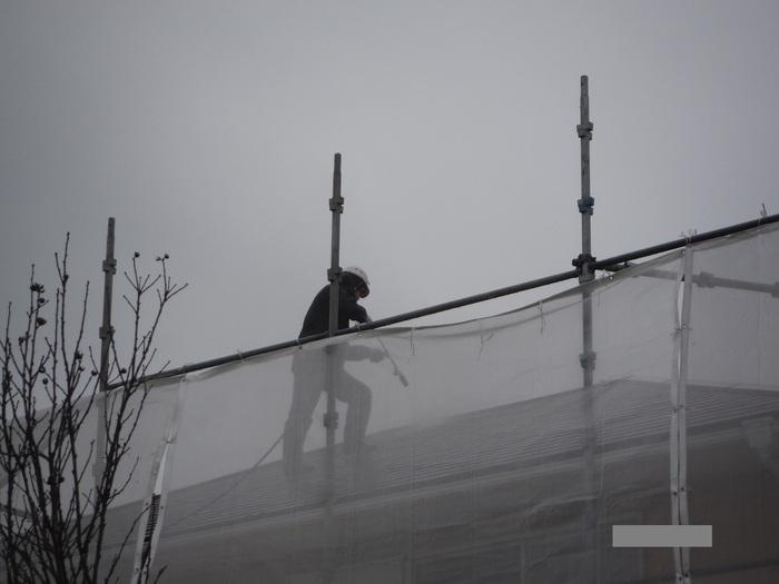 屋根・外壁の塗り替え ~ 水洗い_d0165368_445520.jpg