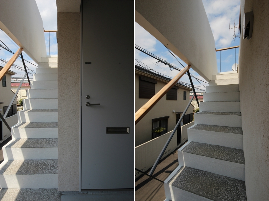 経堂アパートメント 竣工写真_c0310571_22325620.jpg