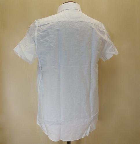 CIT LUXURY(チット・ラグジュアリー)コットンXリネンショートスリーブシャツ(GPAULM)_c0118375_00105043.jpg