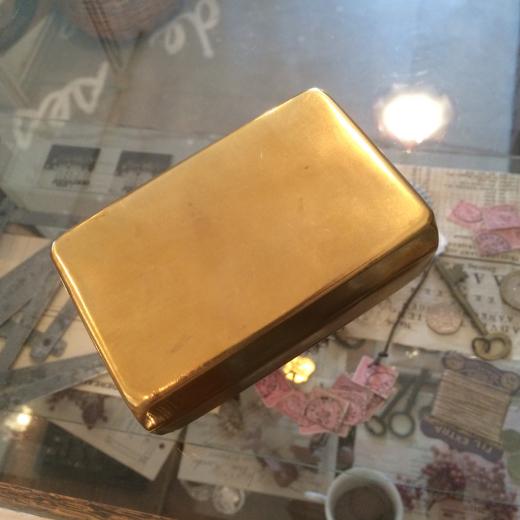 真鍮ケースと半袖ブラウス。_a0164280_13223025.jpg