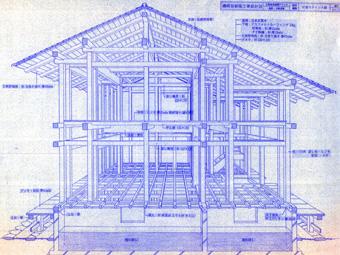 左右対称の建築・・板倉の家_c0195909_12444230.jpg