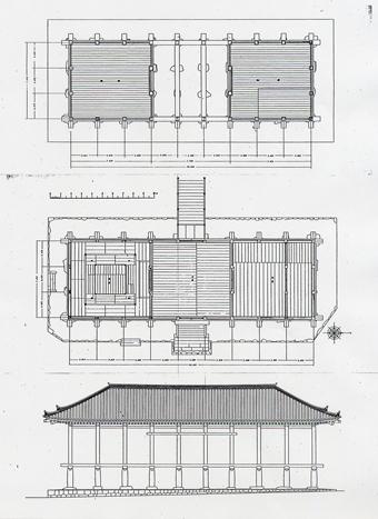 左右対称の建築・・板倉の家_c0195909_1245217.jpg