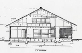 左右対称の建築・・板倉の家_c0195909_1245744.jpg