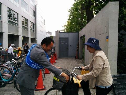 5月 6日(金) 自転車交通安全キャンペーン_e0093518_15371821.jpg