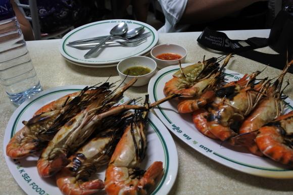 2015.05 BKK⑳ TK SEA FOOD でエビ~~~!!_e0219520_17013475.jpg
