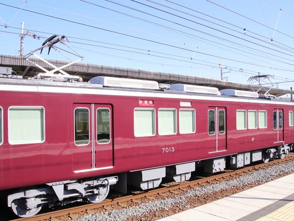 阪急7013F 試運転。_d0202264_21413018.jpg