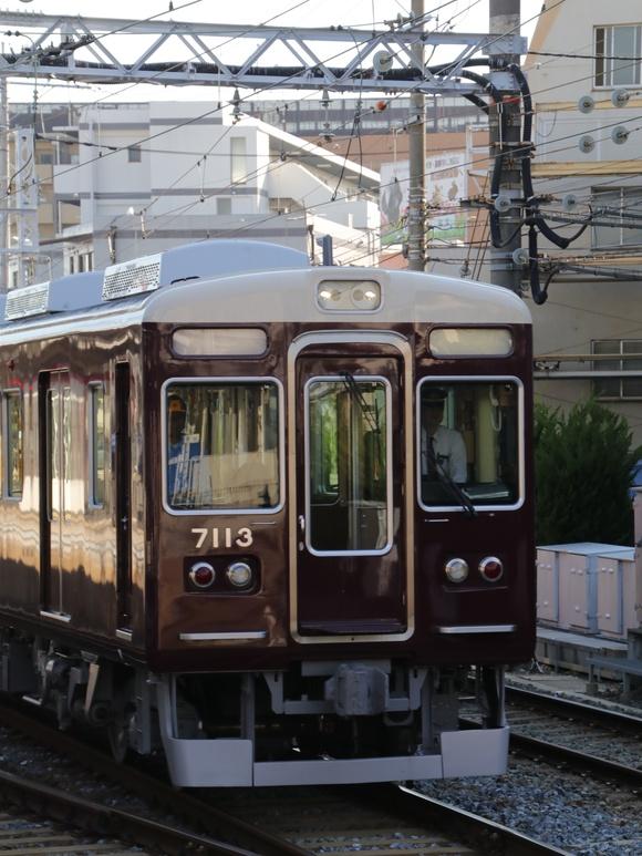 阪急7013F 試運転。_d0202264_21425747.jpg