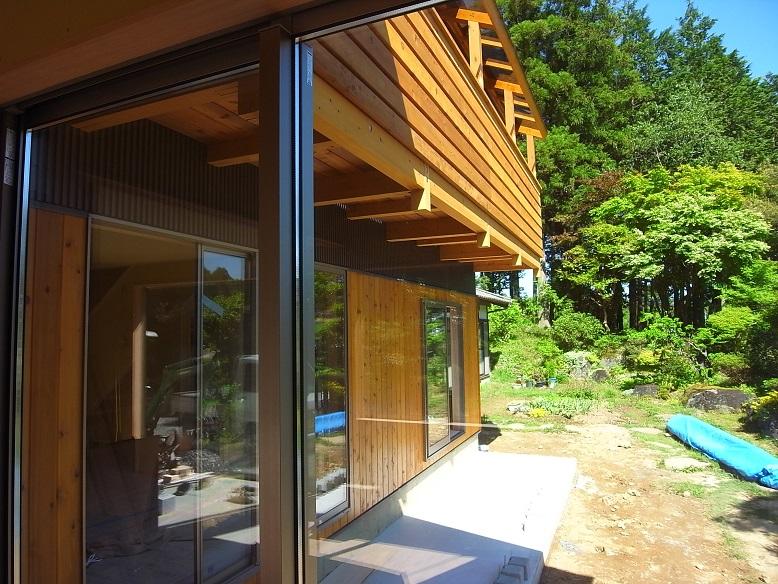 笠間の家Ⅱ 木工事完了 2016/5/12_a0039934_1628381.jpg