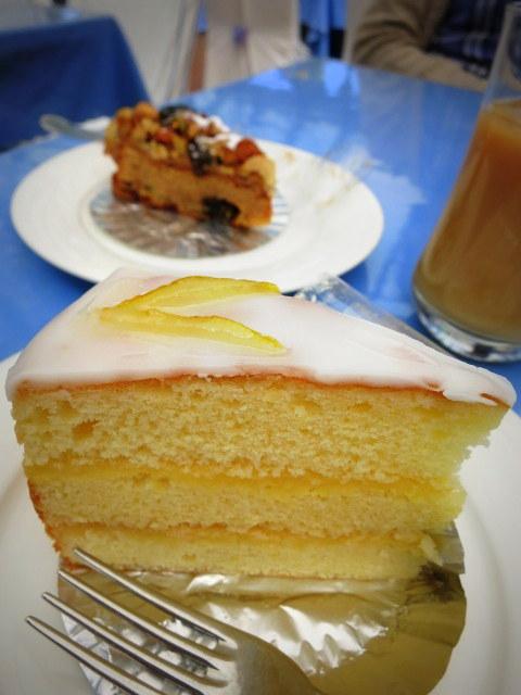 GWの蓼科 ②バラクラカフェのケーキセット_f0236260_023335.jpg