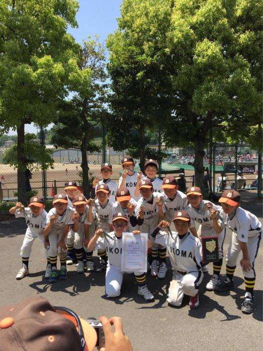 Aチーム、市民体育大会準決勝_b0296154_14454487.jpg