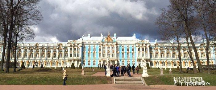 ロシアの旅 2 エカテリーナ宮殿 Ⅰ_a0092659_19581194.jpg
