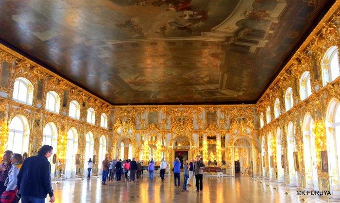 ロシアの旅 2 エカテリーナ宮殿 Ⅰ_a0092659_19583879.jpg