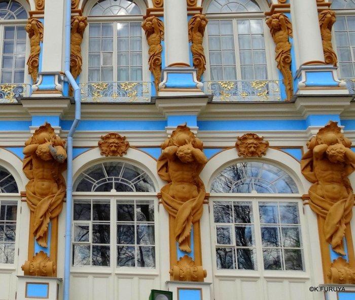 ロシアの旅 2 エカテリーナ宮殿 Ⅰ_a0092659_22033598.jpg