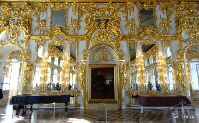ロシアの旅 2 エカテリーナ宮殿 Ⅰ_a0092659_22264691.jpg