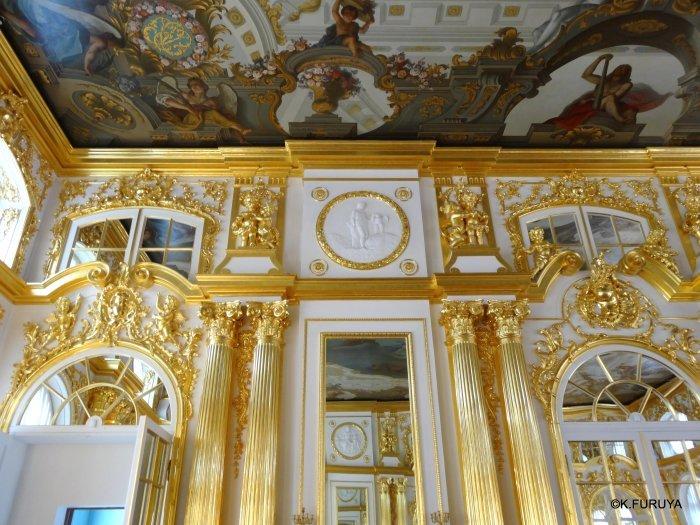 ロシアの旅 2 エカテリーナ宮殿 Ⅰ_a0092659_22271066.jpg