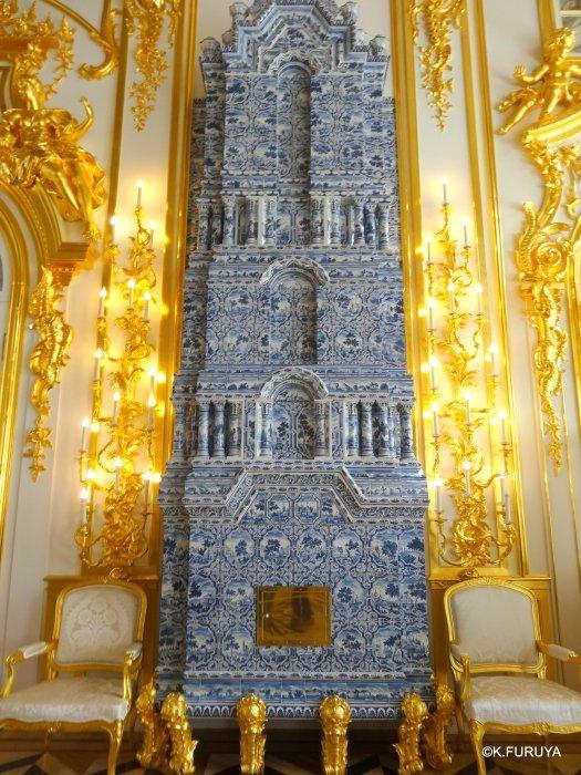 ロシアの旅 2 エカテリーナ宮殿 Ⅰ_a0092659_22273967.jpg