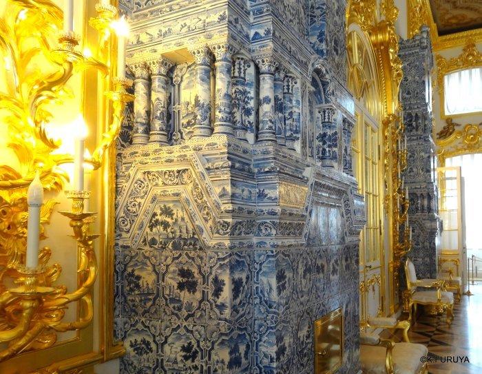 ロシアの旅 2 エカテリーナ宮殿 Ⅰ_a0092659_22450764.jpg