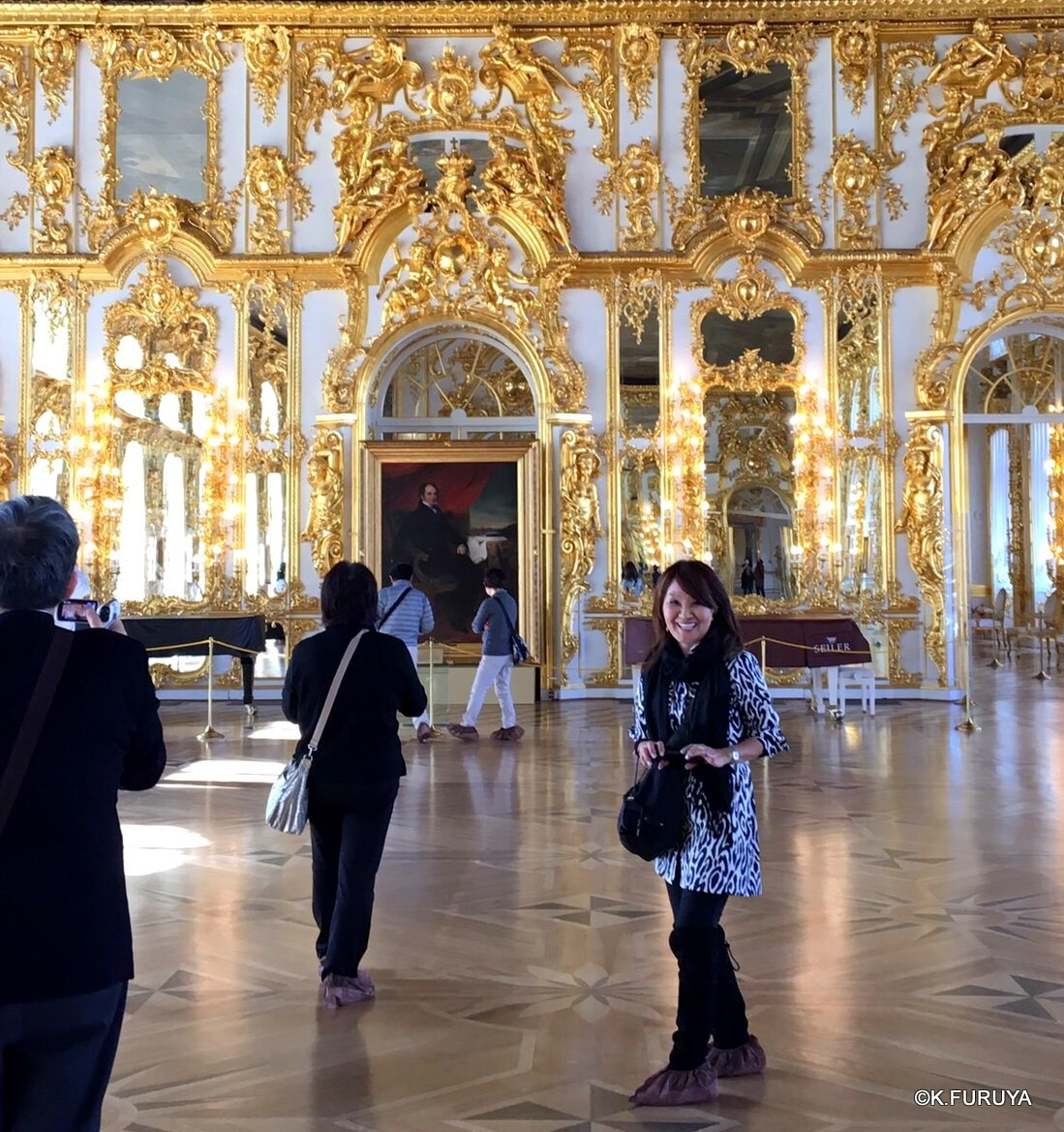ロシアの旅 2 エカテリーナ宮殿 Ⅰ_a0092659_23313116.jpg