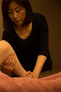 春爛満のリンパドレナージュは医療分野で治療目的として行なわれています。_b0328361_22003655.jpg