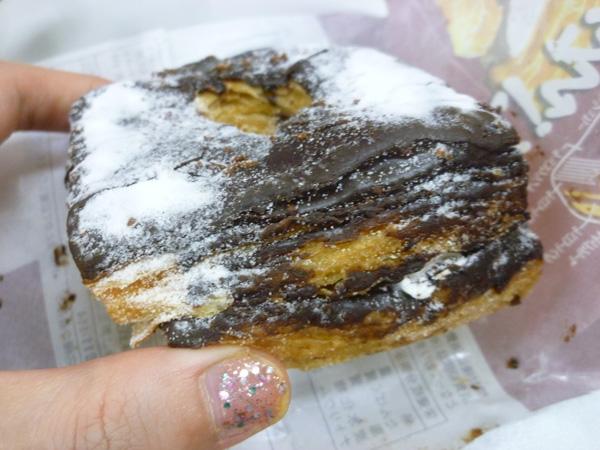 【菓子パン】ドーワッツ チョコ&ホイップ@ヤマザキ_c0152767_21355837.jpg