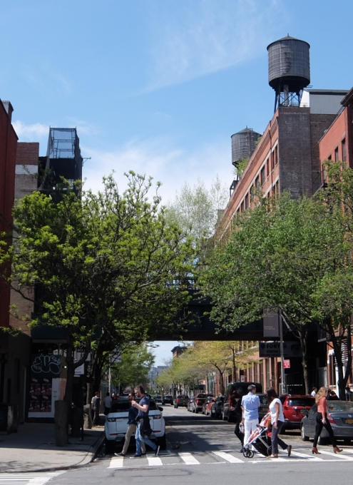 NYチェルシーのギャラリー街、ハイラインの影響で家族で楽しめる展示増えてるかも?_b0007805_2365618.jpg
