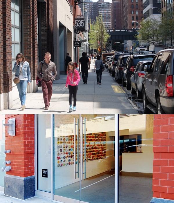 NYチェルシーのギャラリー街、ハイラインの影響で家族で楽しめる展示増えてるかも?_b0007805_2373510.jpg