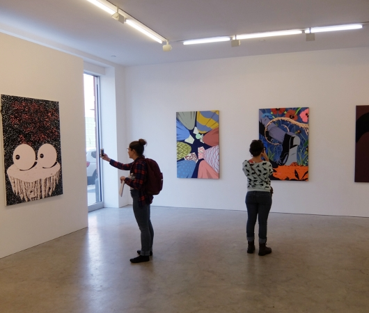 NYチェルシーのギャラリー街、ハイラインの影響で家族で楽しめる展示増えてるかも?_b0007805_239579.jpg