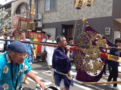 皐月の『書・コトハジメ』新日吉神宮祭り_b0153663_14133046.jpeg