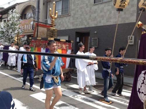 皐月の『書・コトハジメ』新日吉神宮祭り_b0153663_14145789.jpeg