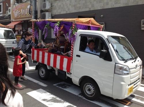 皐月の『書・コトハジメ』新日吉神宮祭り_b0153663_14211284.jpeg