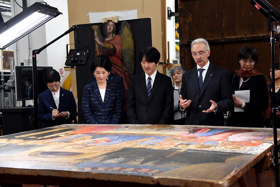 秋篠宮さまご夫妻ご訪問とフィレンツェ人のモラル_a0136671_3133488.jpg