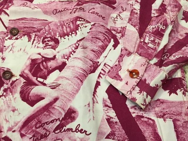 5月18日(水)大阪店ヴィンテージ&スーペリア&アクセサリー&ブーツ入荷日!! #1 Hawaiian&Bowling&!!_c0078587_1931296.jpg