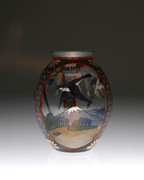 Sevres Enamel Japonesque Vase_c0108595_23235865.jpg
