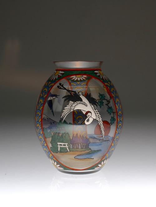 Sevres Enamel Japonesque Vase_c0108595_23264615.jpg