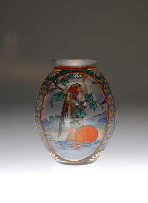 Sevres Enamel Japonesque Vase_c0108595_23313713.jpg