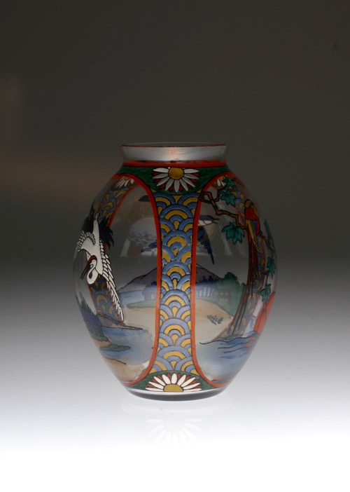 Sevres Enamel Japonesque Vase_c0108595_23331754.jpg
