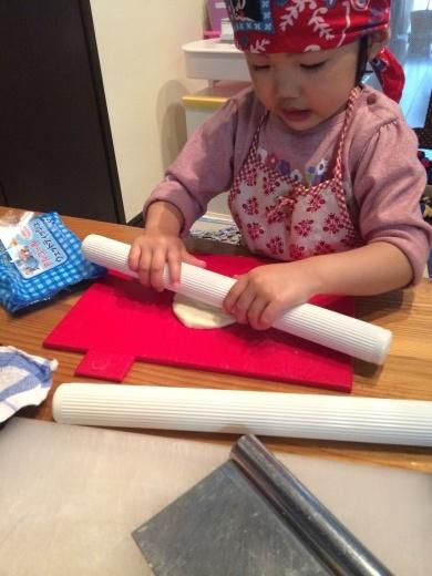 娘とパン作り_f0229521_15393847.jpg
