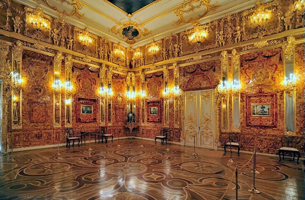 ロシアの旅 3 エカテリーナ宮殿 Ⅱ_a0092659_19584622.jpg