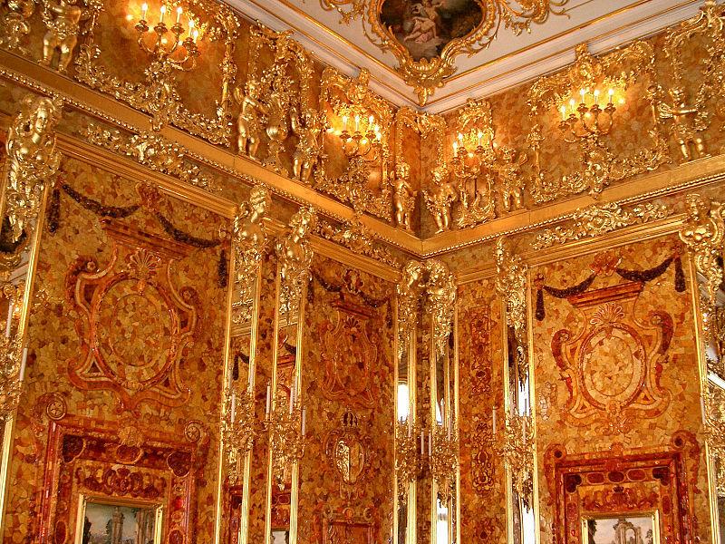 ロシアの旅 3 エカテリーナ宮殿 Ⅱ_a0092659_19585621.jpg