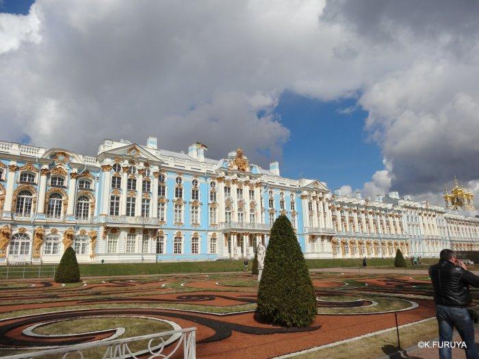 ロシアの旅 3 エカテリーナ宮殿 Ⅱ_a0092659_22464633.jpg