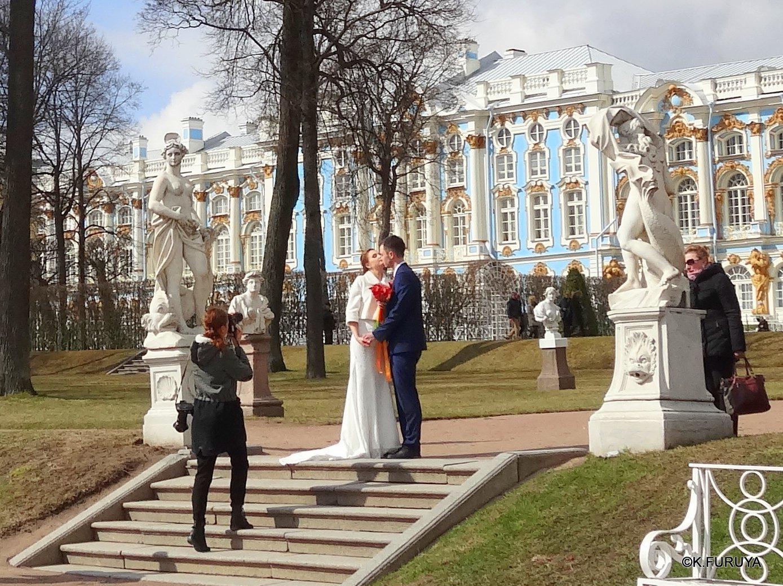 ロシアの旅 3 エカテリーナ宮殿 Ⅱ_a0092659_22503412.jpg