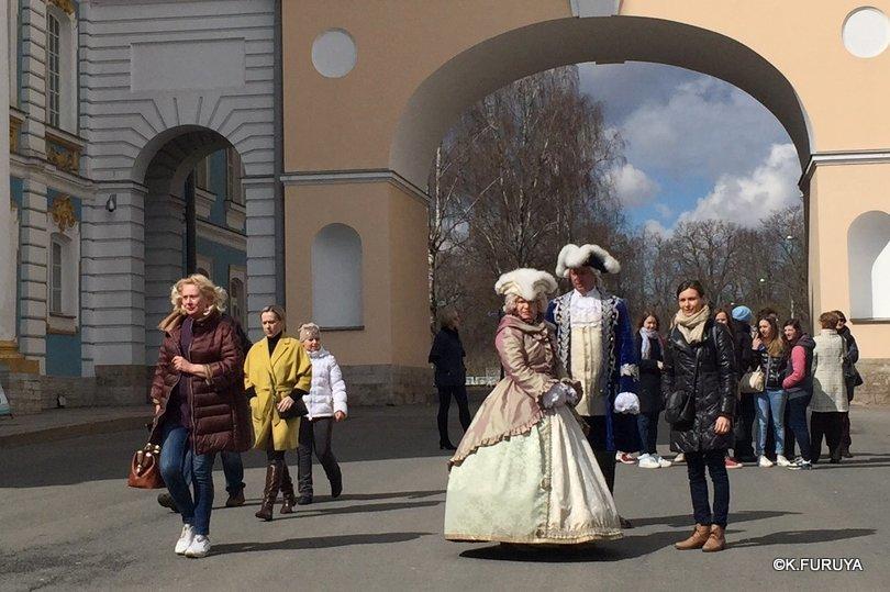 ロシアの旅 3 エカテリーナ宮殿 Ⅱ_a0092659_23041003.jpg