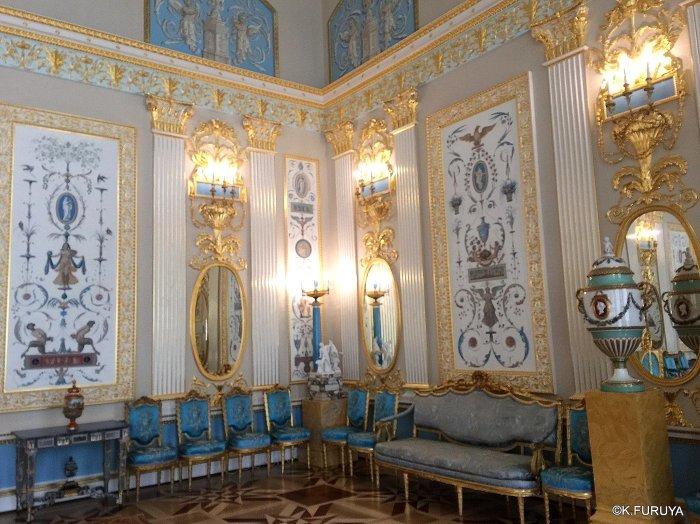 ロシアの旅 3 エカテリーナ宮殿 Ⅱ_a0092659_23163279.jpg