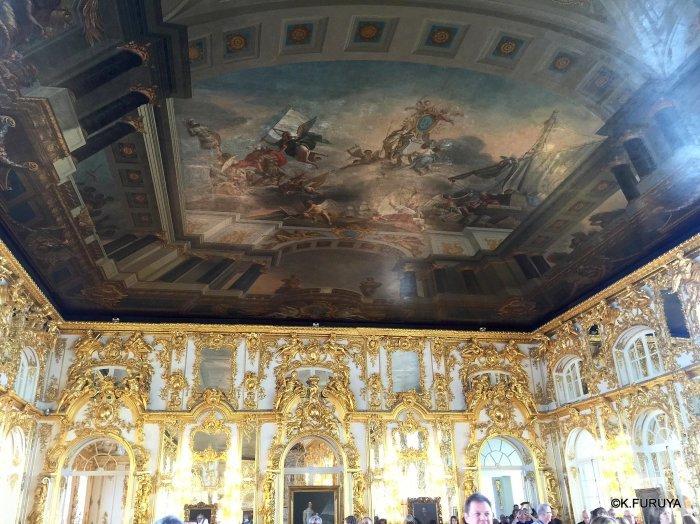 ロシアの旅 3 エカテリーナ宮殿 Ⅱ_a0092659_23173267.jpg