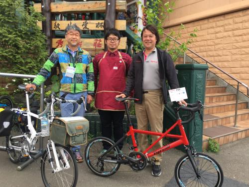 春の折り畳み自転車試乗会 第1弾_d0197762_07511942.jpg